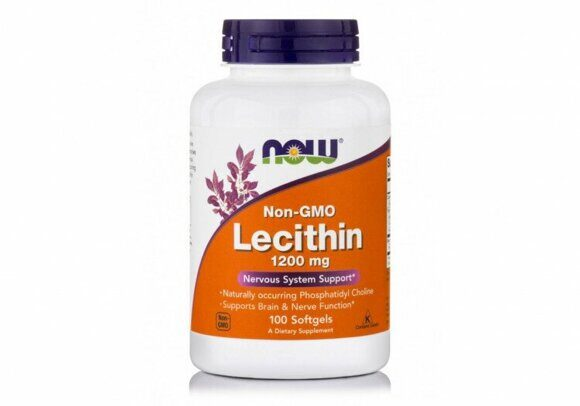 NOW Lecithin 120mg 100 caps